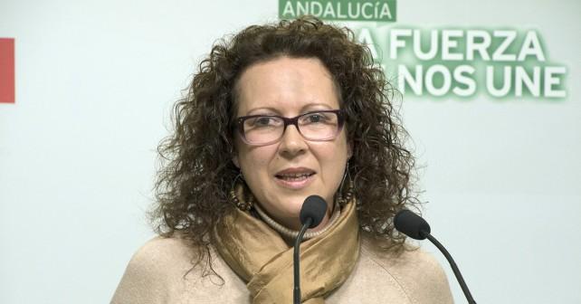 María López portavoz socialista en el Ayuntamiento de Garrucha