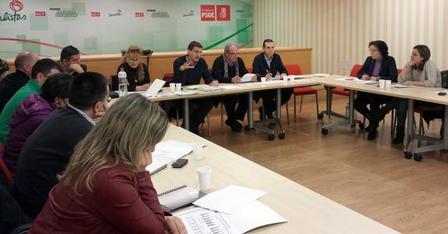 Reunión de la Comisión Ejecutiva Provincial del PSOE de Almería