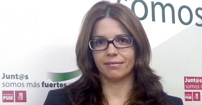Ángeles Castillo, portavoz socialista en el ayuntamiento de Huércal de Almería
