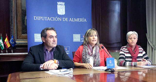 Rueda de prensa PSOE Diputación provincial de Almería