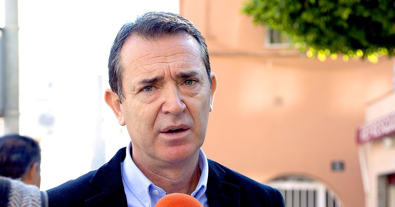 Juan Carlos Pérez Navas, candidato del PSOE a la Alcaldía de Almería