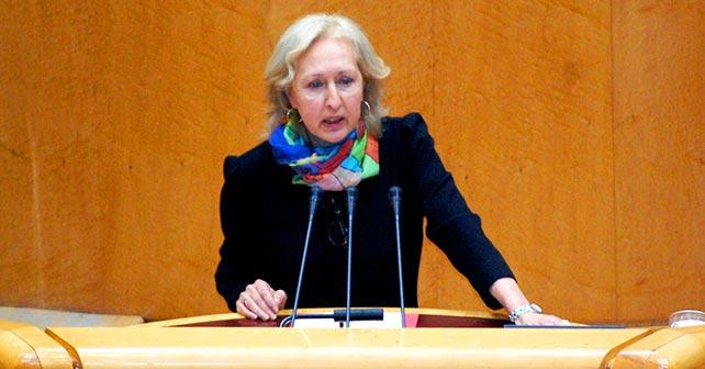 Fuensanta Coves, senadora socialista por la comunidad andaluza