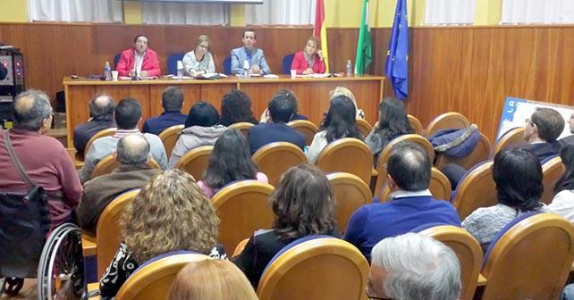 Acto sobre Dependencia organizado por el PSOE de Almería en el Varadero del Puerto