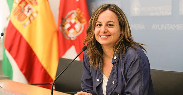 Carmen Núñez, viceportavoz del PSOE en el Ayuntamiento de Almería