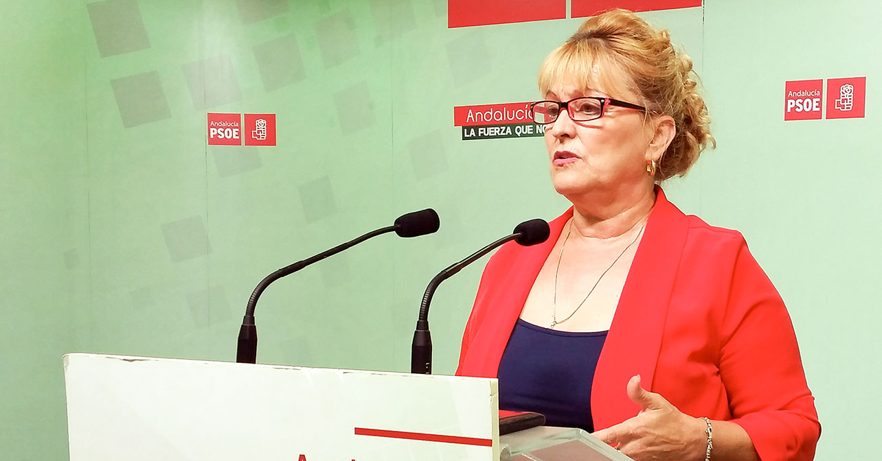 Adela Segura, parlamentaria andaluza del PSOE de Almería