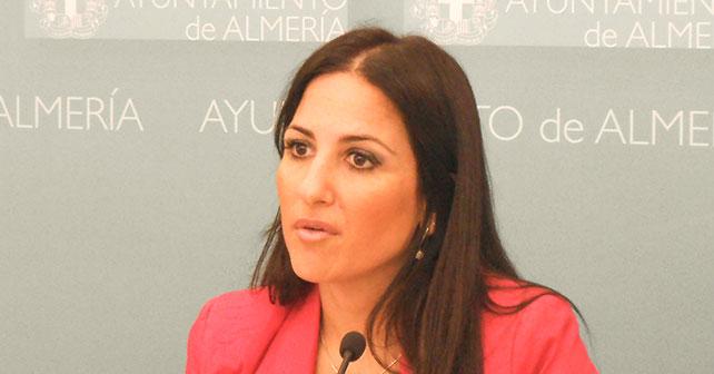 Inés Plaza, concejala del PSOE en el Ayuntamiento de Almería