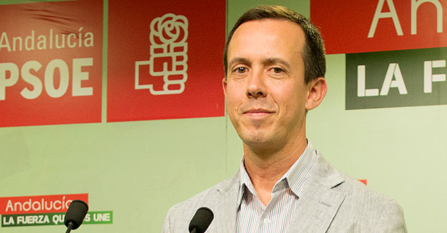 Jose María Martín, parlamentario andaluz del PSOE de Almería