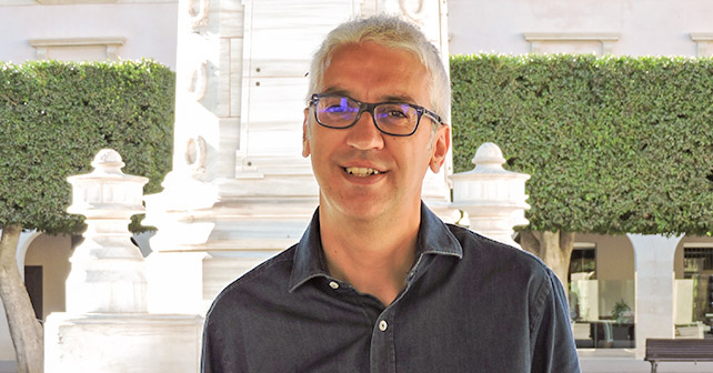 Manuel Vallejo, concejal del Grupo Municipal Socialista en el Ayuntamiento de Almería
