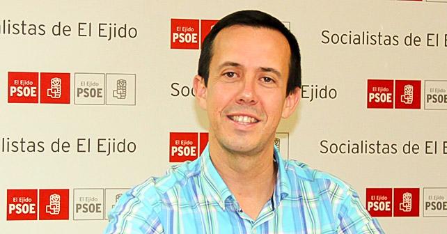 José María Martín Fernández, Delegado de Igualdad, Salud y Políticas Sociales de la Junta de Andalucía en Almería