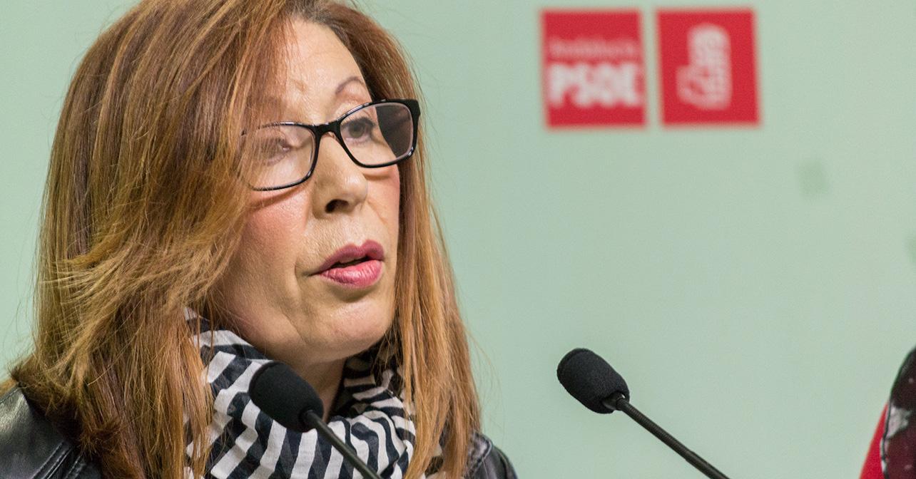 Caridad López, diputada autonómica del PSOE de Almería