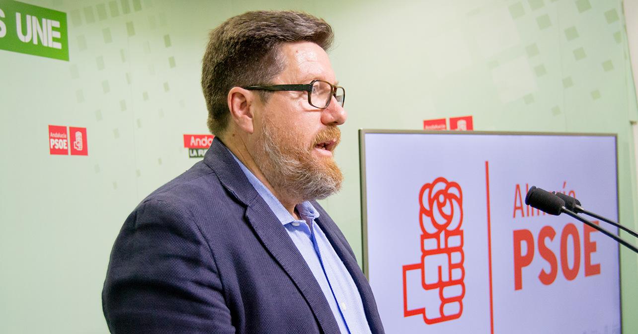 Rodrigo Sánchez, parlamentario andaluz del PSOE de Almería