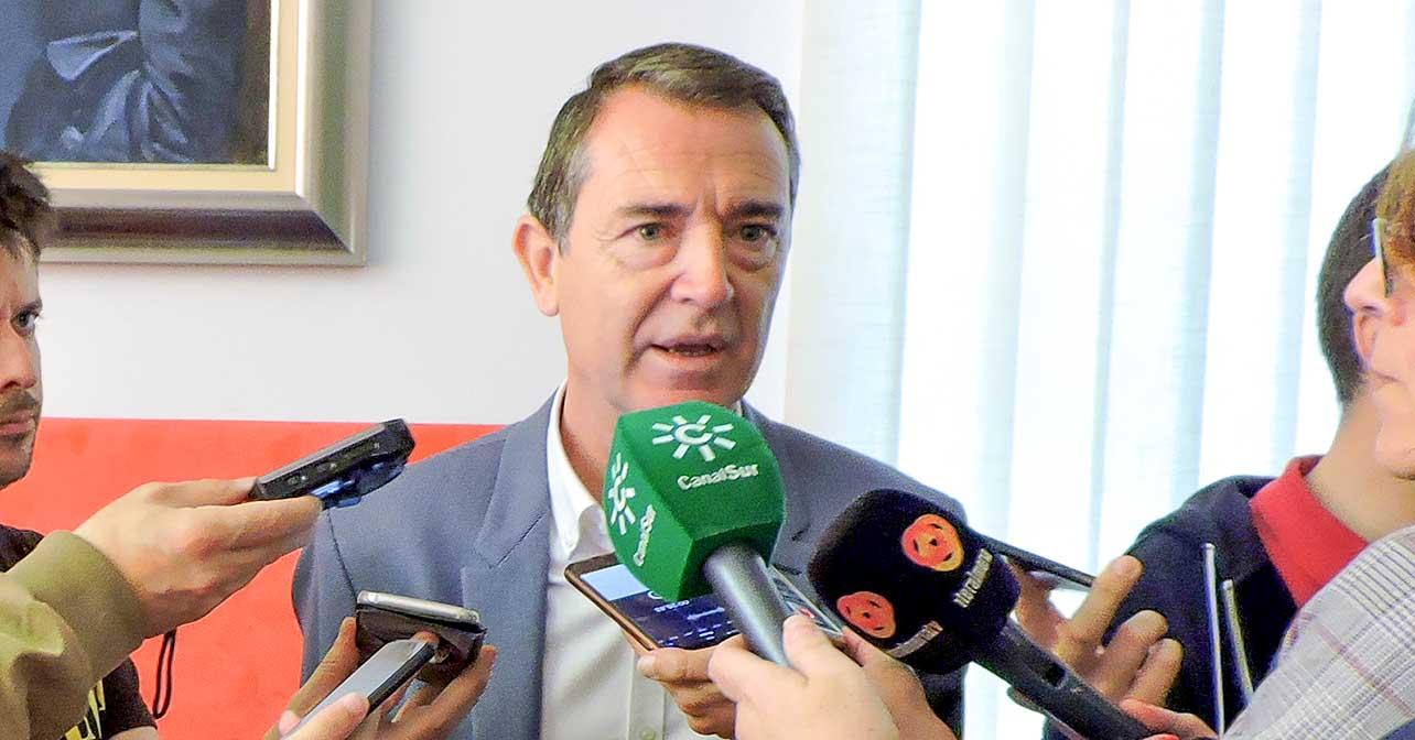 Juan Carlos Pérez Navas, portavoz del Grupo Municipal Socialista en el Ayuntamiento de Almería