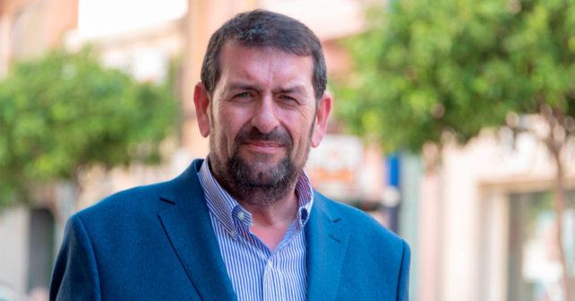 Martín Gerez, portavoz del PSOE en el Ayuntamiento de Vera