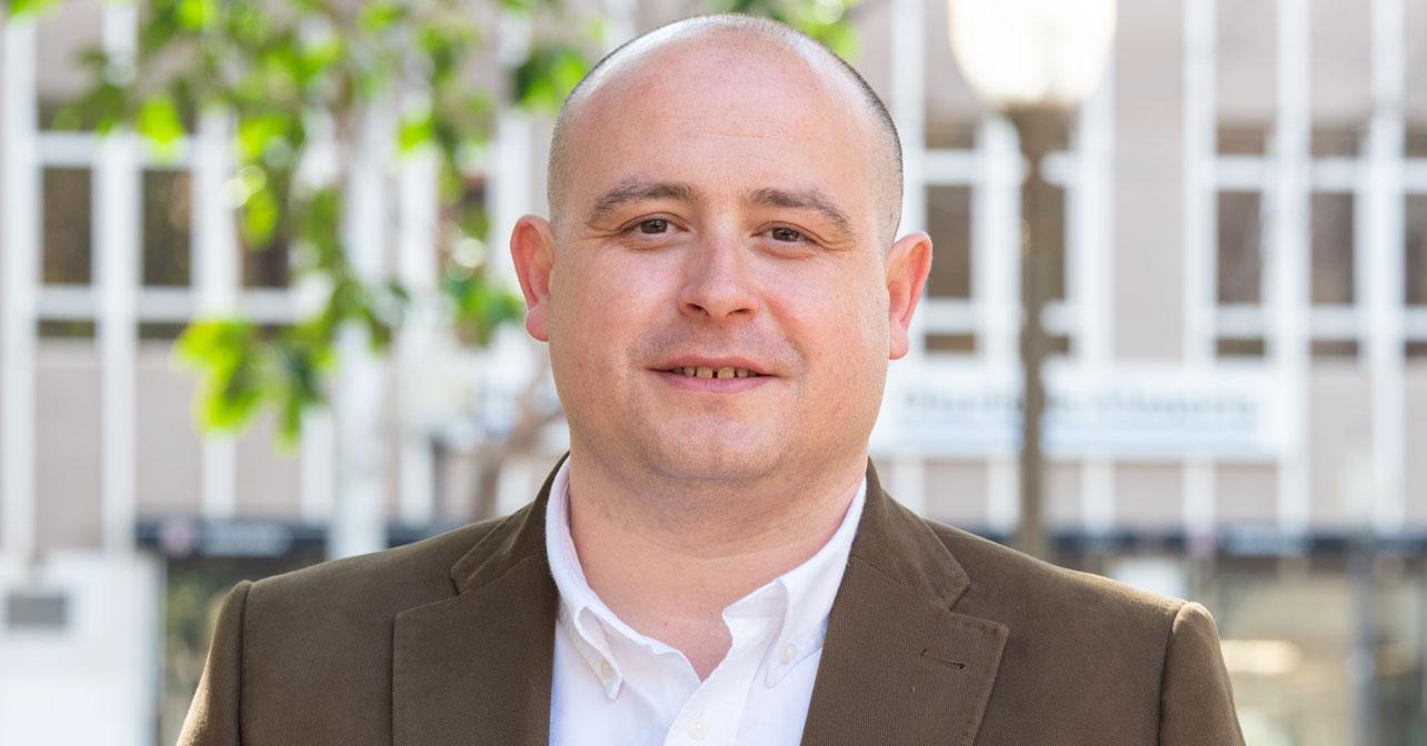 Antonio Martínez, senador por el PSOE de Almería