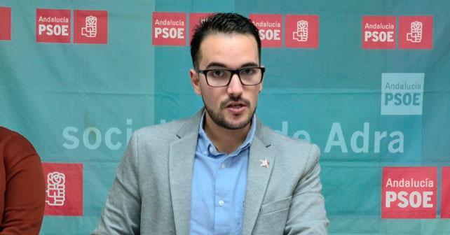 Francisco José Hernández Santamaría, secretario general de Juventudes Socialistas de Adra