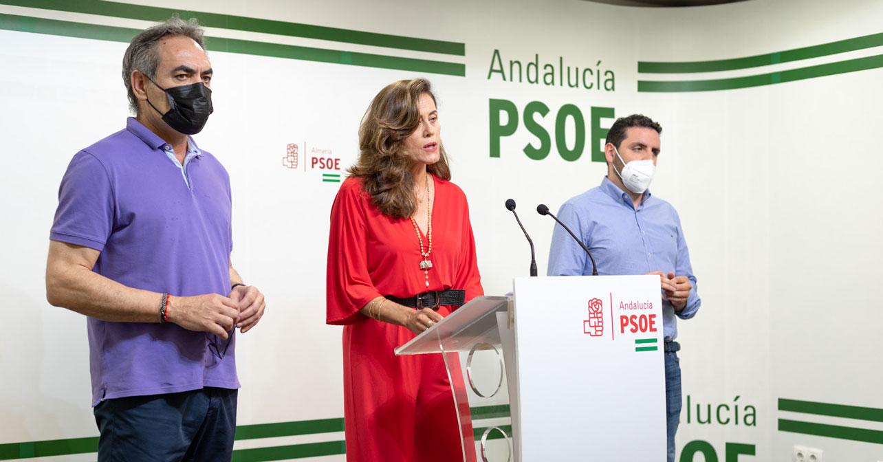 210623-Foto-PSOE-Marcelo-López,-Carmen-Aguilar-y-Juan-Manuel-Ruiz